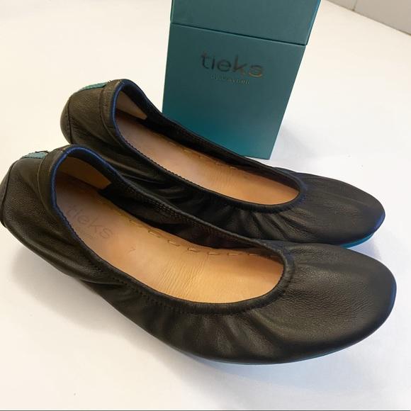 Tieks Shoes | Matte Black Flats | Poshmark